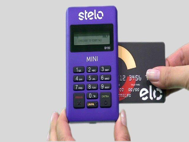 Máquina de Cartão Stelo