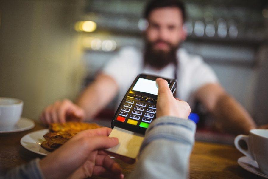 Maquininha de cartão de crédito para restaurante