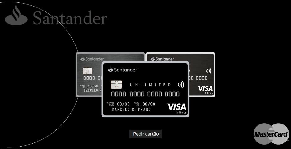 Cartão Santander Unlimited
