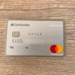 Cartão Santander Van Gogh Platinum Style