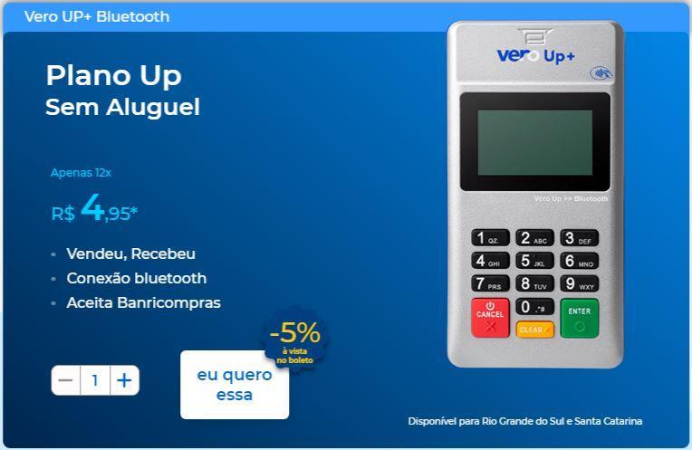 Vero UP+ Bluetooth
